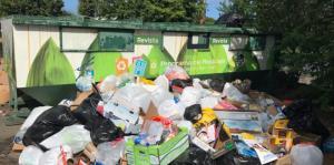 El Municipio de San Juan monitorea incidente con basura en el Parque Central