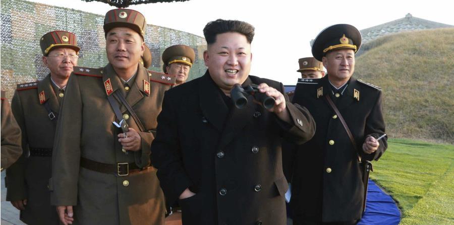 El presidente de Corea del Norte, Kim Jong-un, ordenó preparar armas nucleares