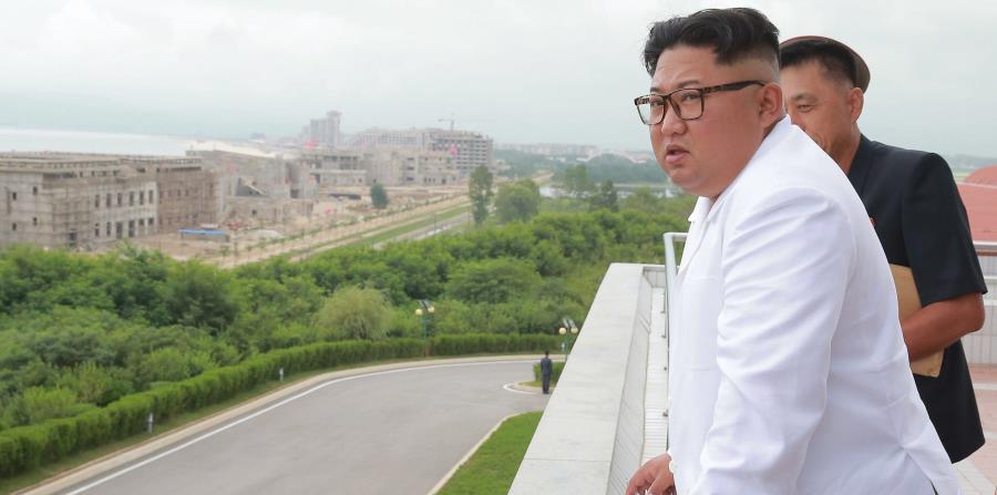 Kim Jong-un se muestra molesto con las sanciones impuestas a Corea del Norte (horizontal-x3)