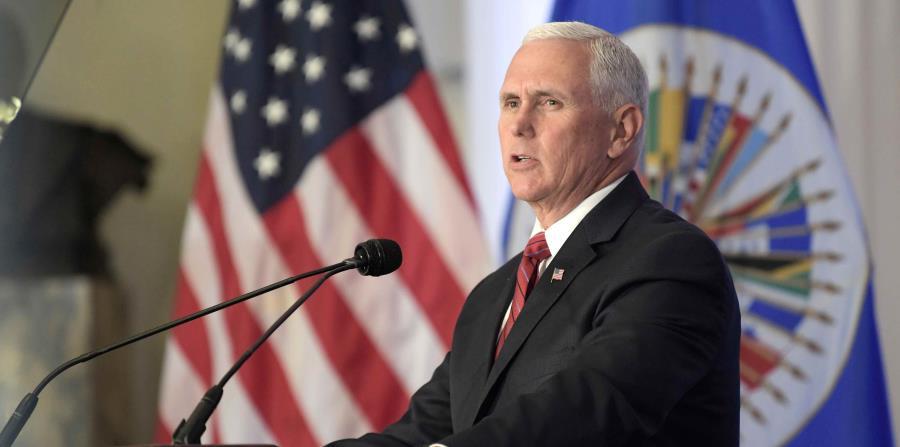 Trascendió que Mike Pence pedirá a los líderes de Ecuador y Brasil que