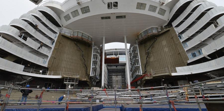 El Synphony of the Seas navegará por el Caribe desde Miami, su puerto base, empezando en noviembre de 2018. (horizontal-x3)