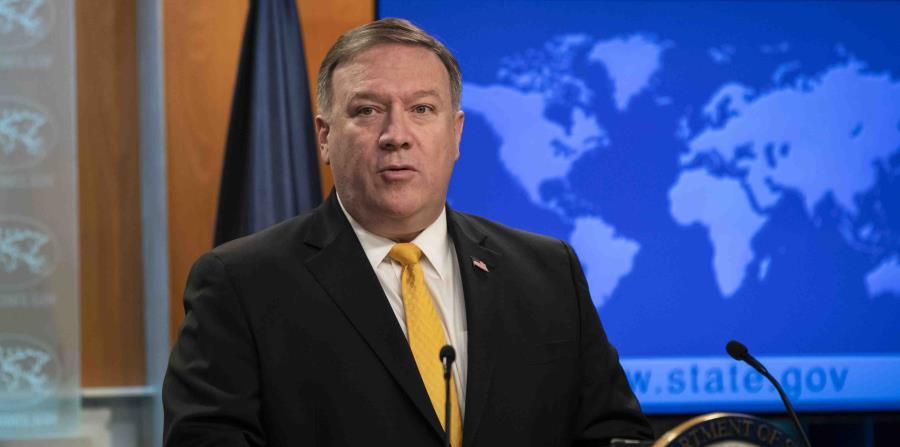 El secretario de Estado, Mike Pompeo, publicará formalmente el reporte hoy.   (horizontal-x3)