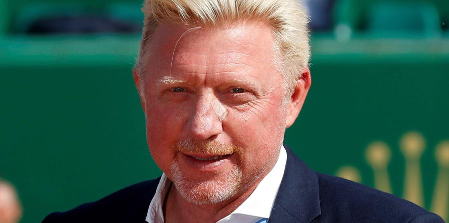 Boris Becker no solo tiene problemas económicos, sino también se separó de su segunda esposa Lilly Kerssenberg en mayo. (EFE) (horizontal-x3)