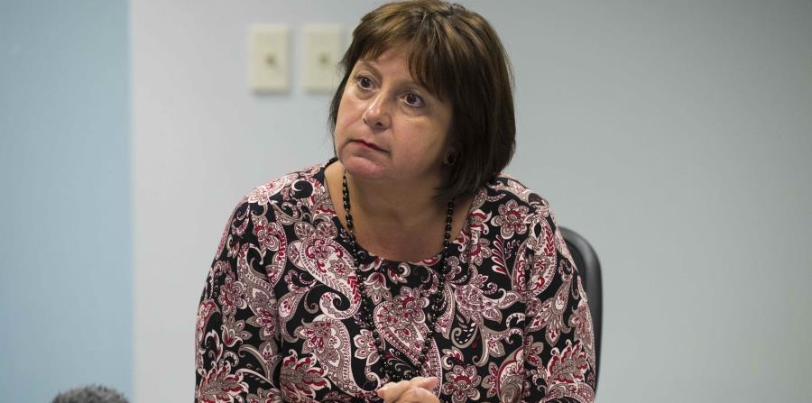 The Executive Director of the Board, Natalie Jaresko. (horizontal-x3)