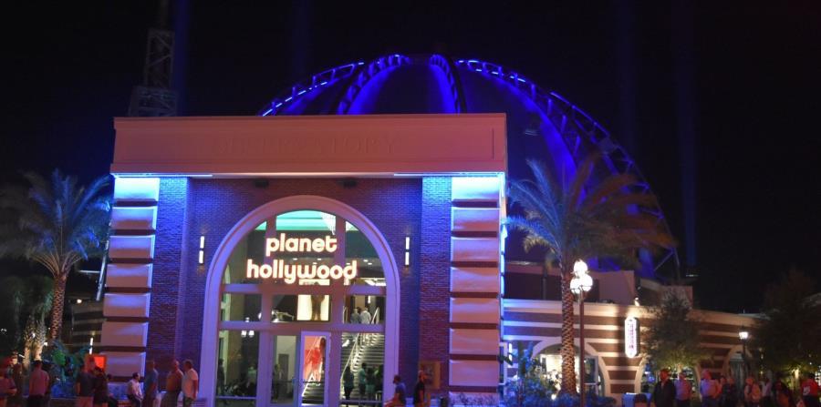Exterior de Planet Hollywood Observatory