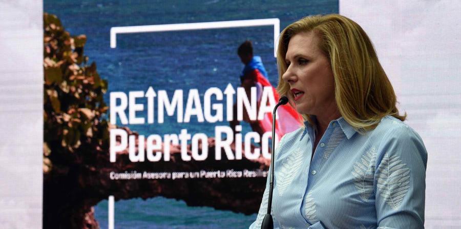 Malú Blázquez, directora ejecutiva de la Comisión Asesora para un Puerto Rico Resiliente. (horizontal-x3)