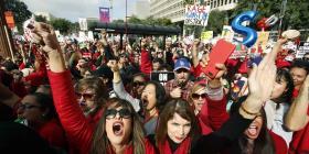 Huelga de maestros en California entra en su segunda semana