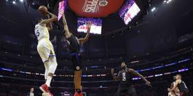 Los Warriors colocan en jaque a los Clippers