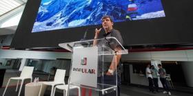 Alpinista chileno resalta el valor de cometer errores