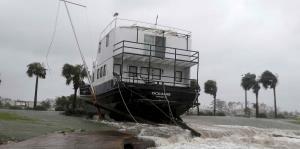 El huracán Michael dejó destrucción e inundaciones al pasar por Florida