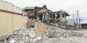 El restaurante El Zipperle queda en ruinas