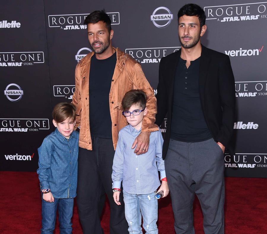 Ricky Martin, padre de una niña