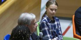 Jóvenes en la ONU exigen medidas contra el cambio climático