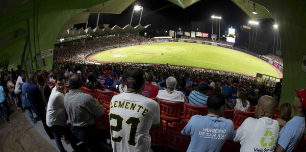 Los boricuas protagonizan la primera noche del Puerto Rico Series