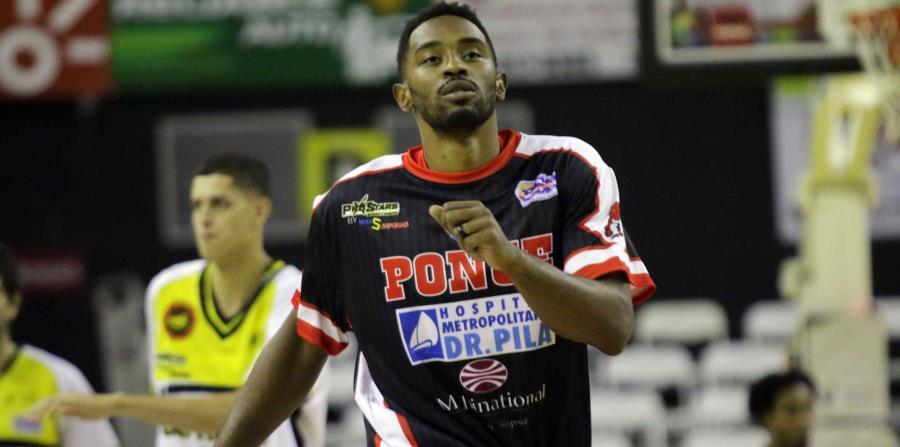 El debut de Mike Harris no pudo evitar que los Leones de Ponce fueran sacados de la cancha por los Capitanes de Arecibo. (horizontal-x3)