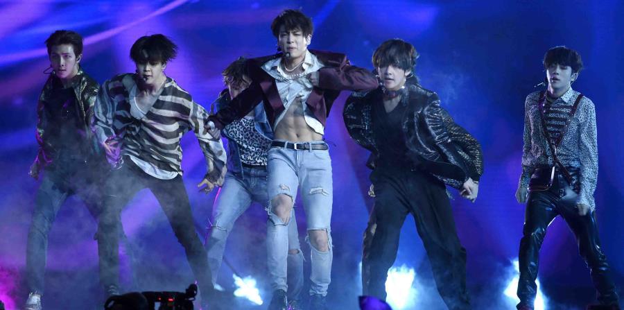 La boy band surcoreana BTS (horizontal-x3)