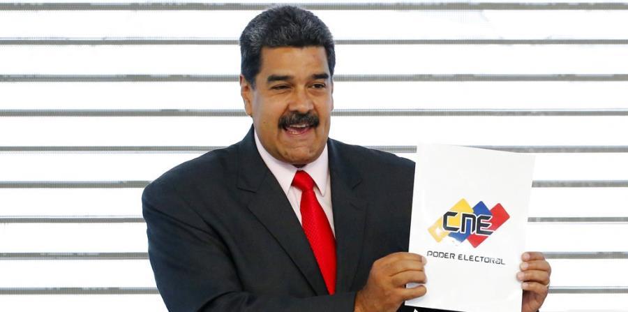 El presidente de Venezuela Nicolás Maduro (horizontal-x3)