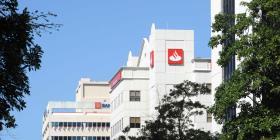 Parcial la apertura de Banco Santander el lunes feriado