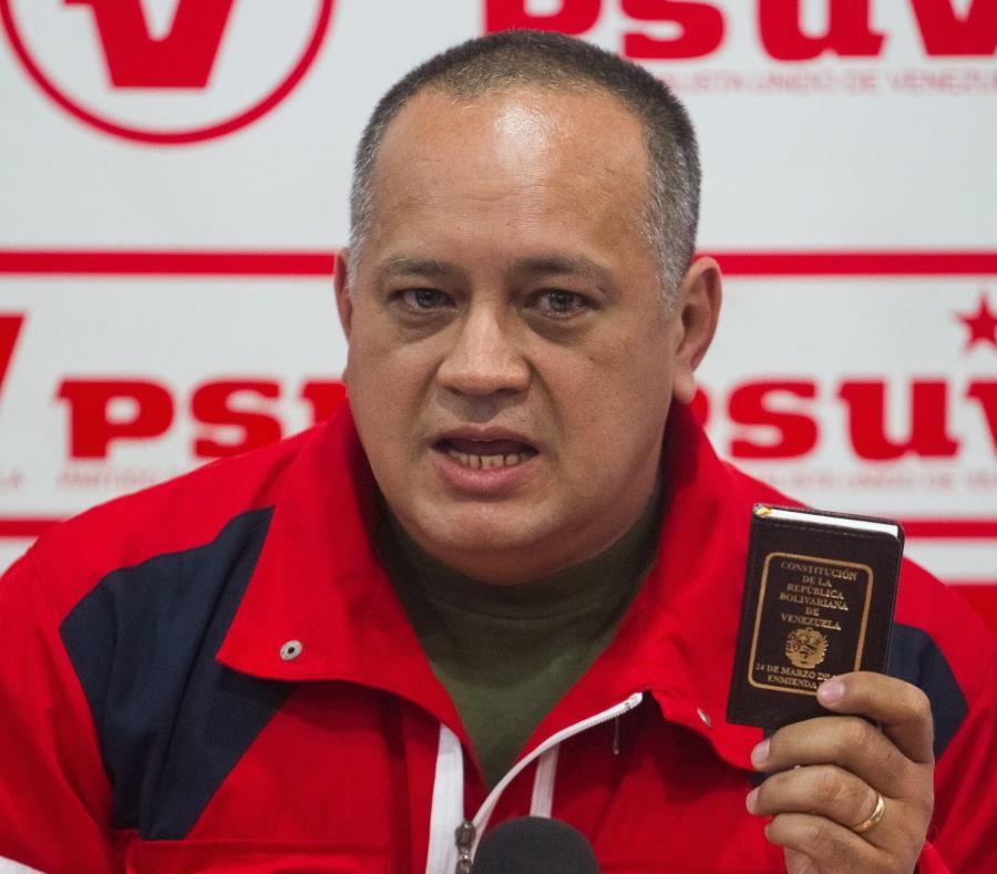 Líder chavista dice que la oposición quiere
