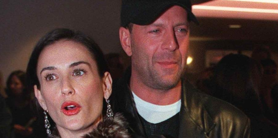 ¿Por qué Bruce Willis pasa la cuarentena con su ex Demi Moore y no con su actual esposa?