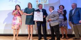 Hogar Ruth gana el Premio Tina Hills 2019