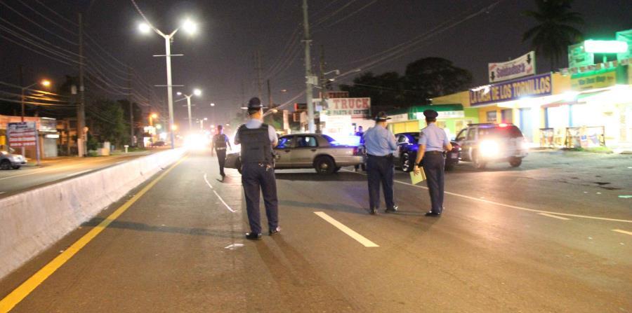 La Policía investiga cuatro accidentes de tránsito de carácter fatal que ocurrieron durante el fin de semana. (horizontal-x3)