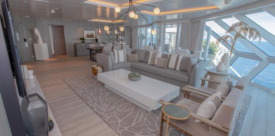 Nombres como el de la arquitecta española Patricia Urquiola y Kelly Hoppen se llevan la gloria del diseño ultra sofisticado y moderno del Celebrity Edge. (Suministrada)