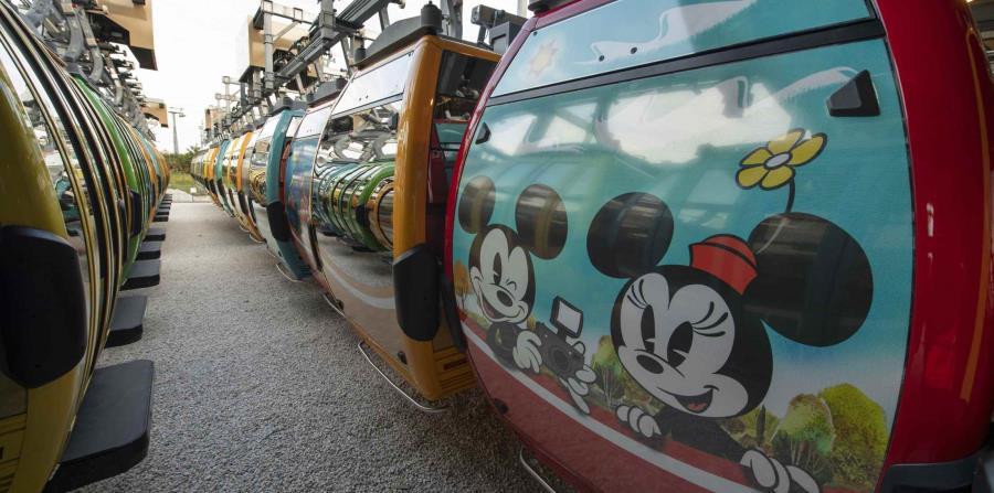 Además no faltan Mickey y Minnie junto a otros personajes tanto de películas como de atracciones, como La Bella y La Bestia. (Suministrada)