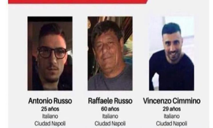 Por desaparición de italianos, autoridades enviarán investigadores y policías