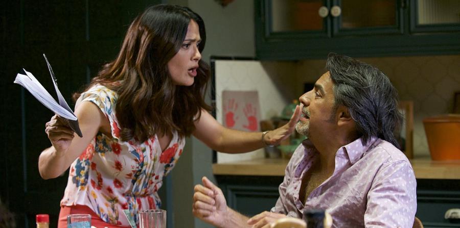 La cinta de Pantelion Films logró recaudar $12.1 millones en su primer fin de semana. En la foto Salma Hayek y Eugenio Derbez. (horizontal-x3)