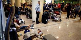 El aeropuerto de Barcelona vuelve lentamente a la normalidad tras las protestas