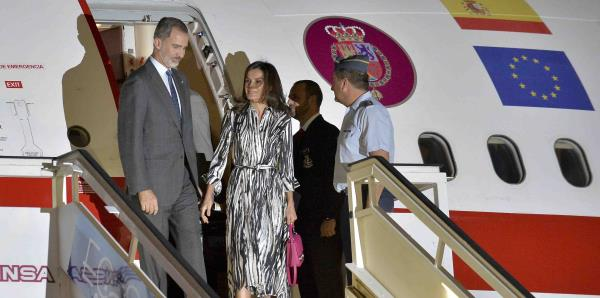 Los Reyes de España llegaron para su visita oficial a Cuba
