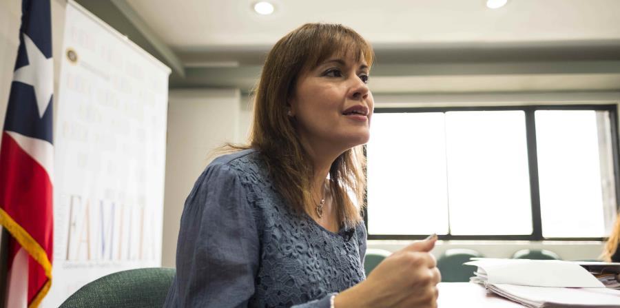 La secretaria del Departamento de la Familia, Glorimar Andújar (horizontal-x3)