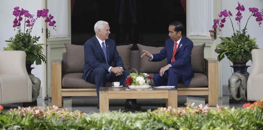 Pence inicia una visita en Indonesia centrada en el comercio y la seguridad (horizontal-x3)