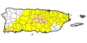 14 municipios están en sequía moderada