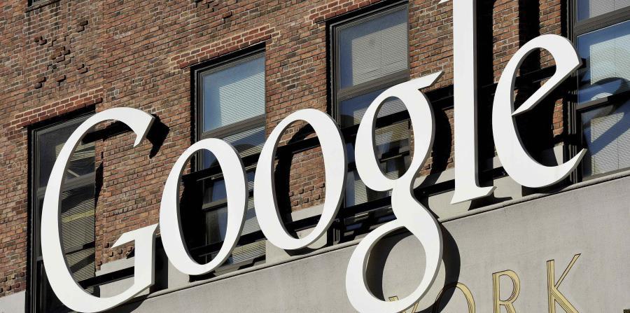 Logo de Google de su sede en Nueva York. (EFE) (horizontal-x3)