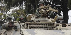 Canciller ecuatoriano culpa disturbios a fuerzas externas