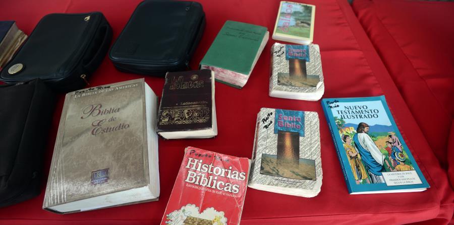 En años anteriores, organizaciones de base de fe celebraron el Día Nacional de la Biblia con eventos para recolectar distintas ediciones del libro. (horizontal-x3)
