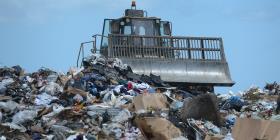 Analizan los componentes de los desperdicios