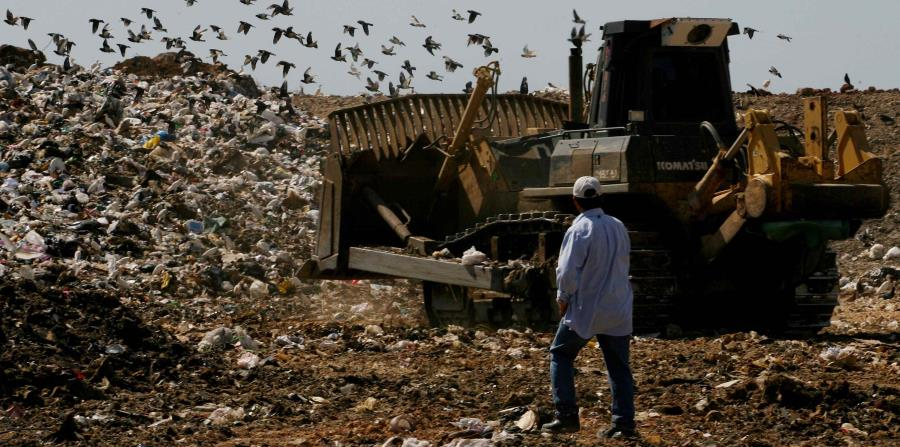La funcionaria apostó por el reciclaje como opción ante la merma de espacios para depositar la basura. (GFR Media) (horizontal-x3)