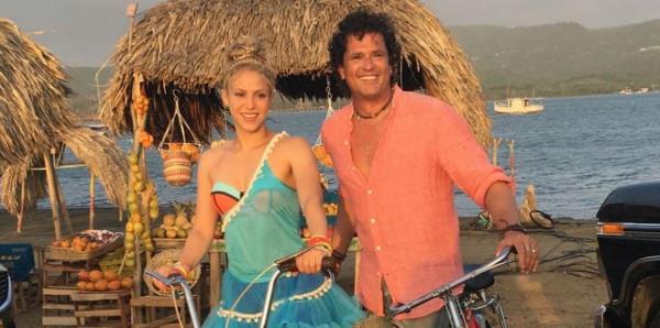 """Shakira y Carlos Vives enfrentan el juicio por plagio de """"La bicicleta"""""""