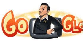 """Doodle de Google celebra el 91 aniversario de nacimiento del creador de """"Chespirito"""""""