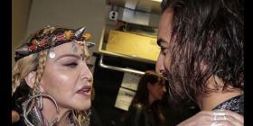 Madonna prepara una colaboración musical con Maluma