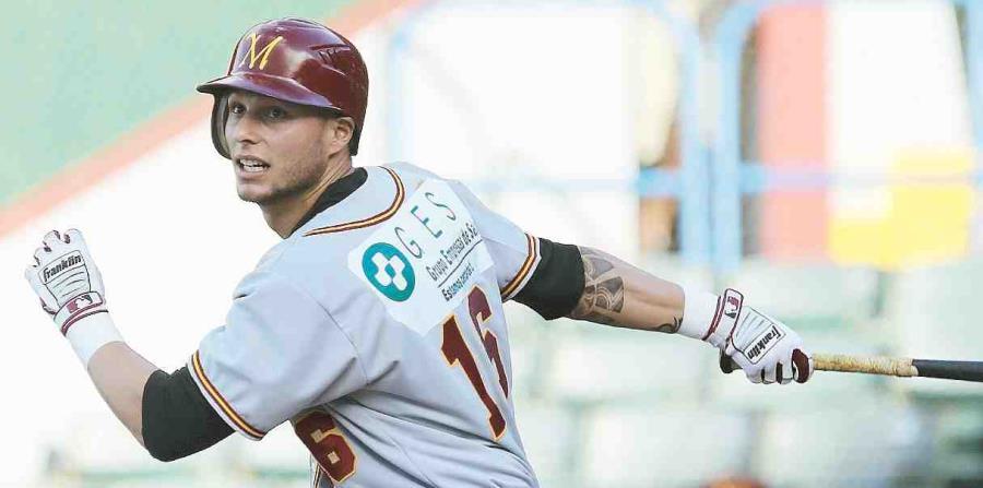 Danny Ortiz ha brillado en las últimas temporadas del béisbol invernal puertorriqueño con los Indios de Mayagüez. (horizontal-x3)