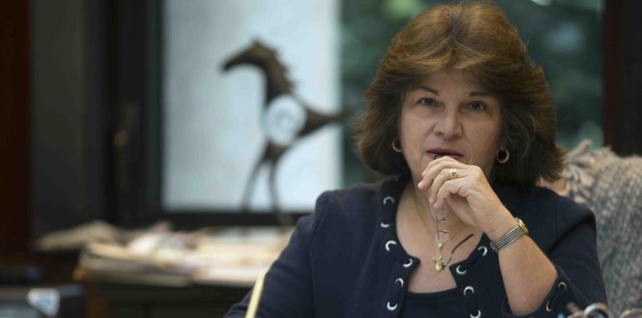 La jueza federal Aida Delgado Colón, quien ocupó el puesto de presidenta del tribunal a nivel local desde el 2011. (GFR Media) (horizontal-x3)