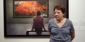 Myrna Báez, una vida entre pinceles y lienzos
