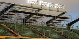 Contentos los fanáticos de los Gigantes de Carolina con la remodelación del parque