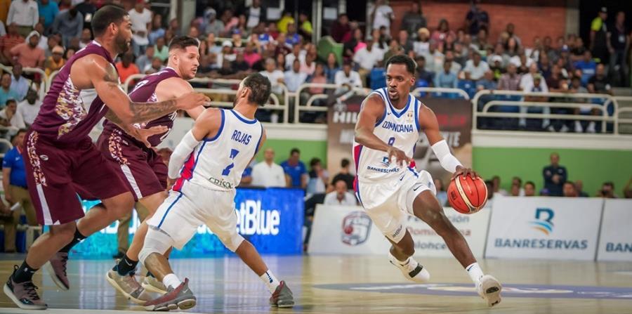 República Dominicana necesita un triunfo ante Brasil para sellar el pase al Mundial. (FIBA-Américas) (horizontal-x3)