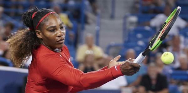 Serena Williams cae en Cincinnati