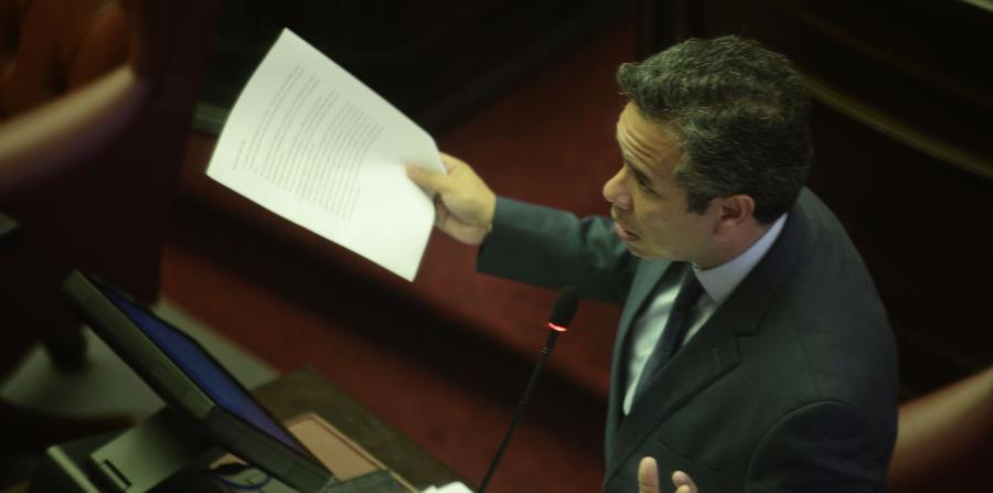 Miguel Romero alegó que el representante Ángel Matos le